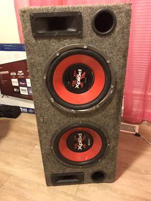 12 inch 900 watt Sony xplod kicker box for Sale in Germantown, MD