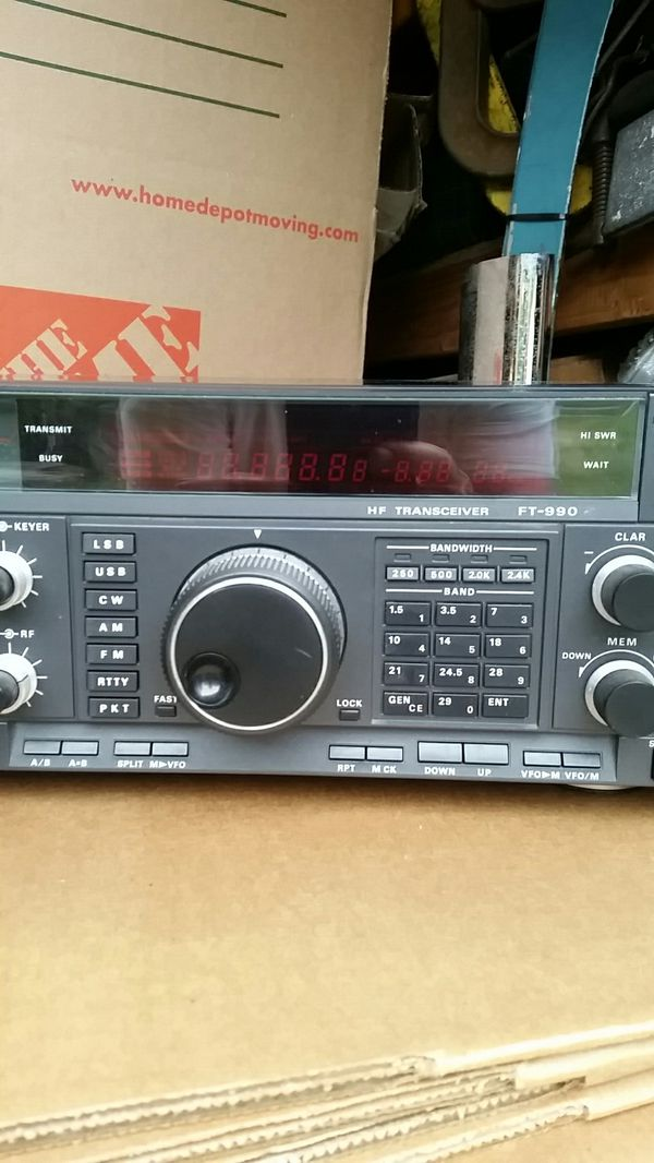 YAESU FT-990 HF TRANSCEIVER HAM RADIO for Sale in South Gate, CA - OfferUp