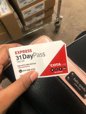 Buss passes for Sale in Columbus, OH