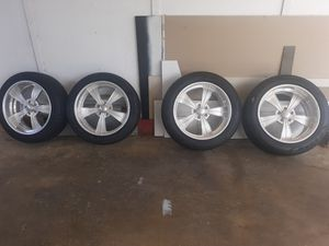 INTRO WHEELS 4 brand new tires 20x8 20x10 lionheart pirelli for Sale in Kaneohe, HI