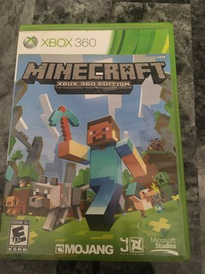 Mincraft game for Xbox 360 for Sale in Providence, RI