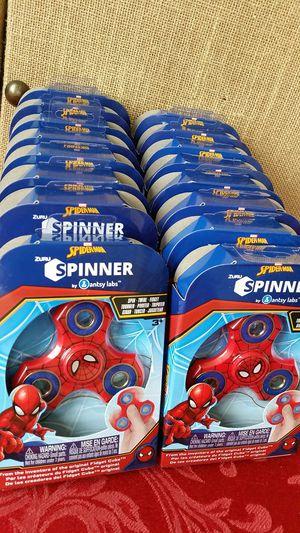 $25 Select 16 Marvel Theme Fidget Spinners Spider-Man Hulk Iron Man Captain America for Sale in Hemet, CA