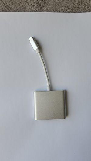 USB type C Hub (HDMI, USB 3.0 output) for Sale in Boston, MA