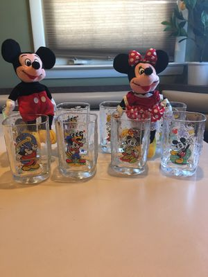 Set of eight millennium McDonald's collectible glasses for Sale in Chicago, IL