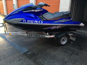 JETSKI 2009 YAMAHA FX SHO SUPERCHARGED 1800 for Sale in Hialeah, FL