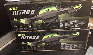 Neon Nitro 8 Self Balancing Electric Board for Sale in Richmond, VA