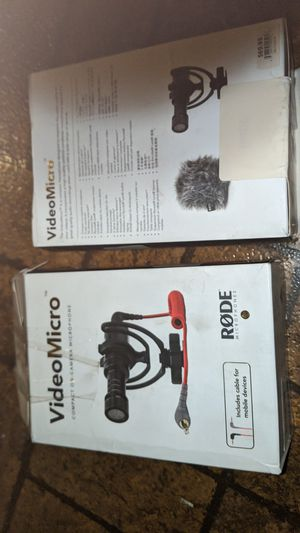 Video micro compact on - camera microphone for Sale in Nowthen, MN