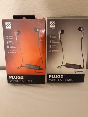 2 Pieces Ifrogz Bluetooth Headphones for Sale in Plano, TX