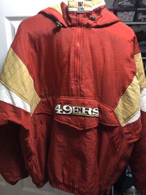 49ers Starter Parka Pullover Jacket for Sale in Hayward, CA