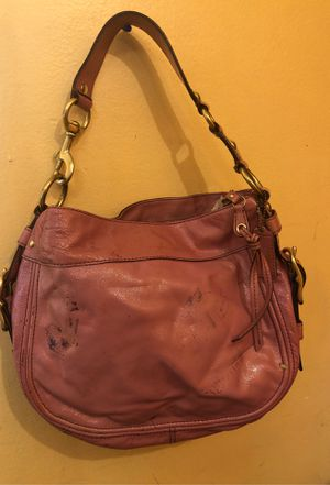 Patent leather pink Coach Bag for Sale in Capitol Heights, MD