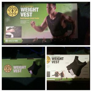 Weight vest for Sale in Prospect, VA