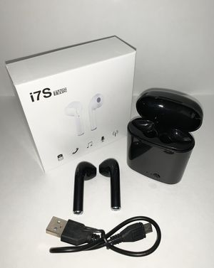 Wireless EarPods i7S BLACK for Sale in Los Angeles, CA