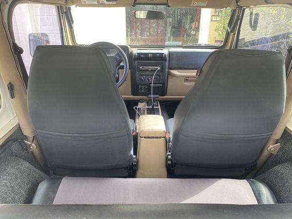 Jeep TJ Sahara 2000