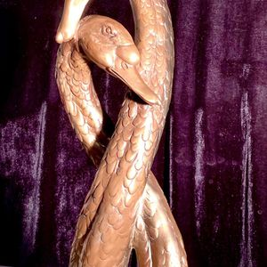 Gorgeous, tall Swans Pair sculpture candle holder H23xW9 inch Lbs 7.8 for Sale in Chandler, AZ