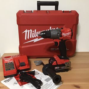 Milwaukee Hammer/Drill w/ charger and battery 5 Amp in the case J77AD1844 $125 for Sale in Vista, CA