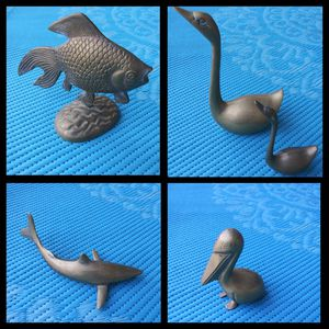 SOLID BRASS 5 ANIMAL FIGURES. for Sale in Bothell, WA