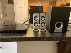 Blu-ray and speaker for Sale in Centreville, VA