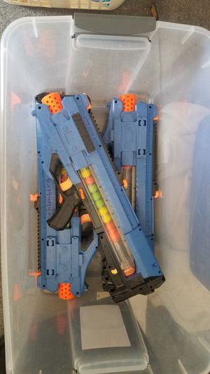 Nerf rival Blaster toy gun mxv1200 mxv-1200 for Sale in Glendale, AZ