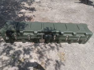 "MILITARY SURPLUS HARDIGG STORAGE CONTAINER 62""x12""x12"" for Sale in Seminole, FL"