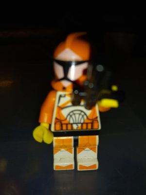 STAR WARS ORANGE RETIRED STORM TROOPER LEGO MINIFIGURE for Sale in San Diego, CA