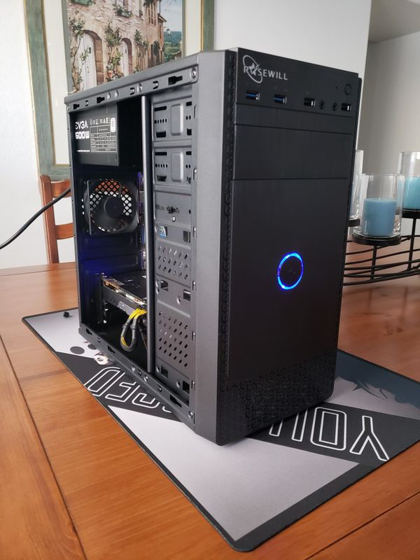 Simplistic Gaming PC Computer