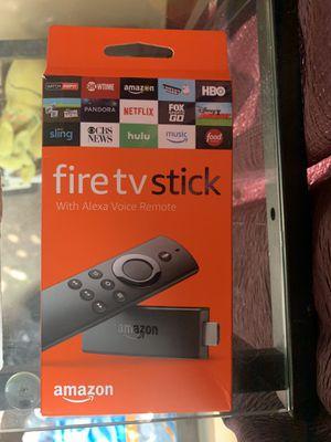 Firetv stick w/ Alexa for Sale in Santa Clarita, CA