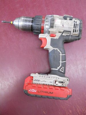CORDLESS DRILL PORTER CABLE 20V LITHIUM 20 VOLT - PRICE IS FIRM for Sale in Columbus, OH