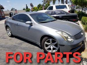 FOR PARTS INFINITI G35 COUPE SEDAN BREMBO 3.5 REV for Sale in Los Angeles, CA