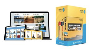 Rosetta Stone Spanish All Levels Complete for Sale in Portland, OR