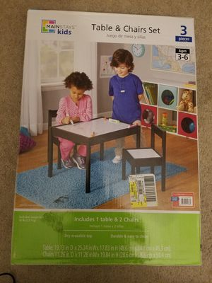 New Kids Dry Erase Table and Chair Set for Sale in Sterling Heights, MI