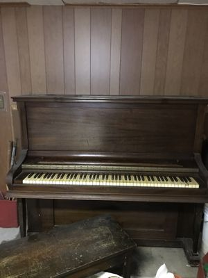 Piano , 1920 vintage $200 , you have to carry out from basement for Sale in Elmont, NY