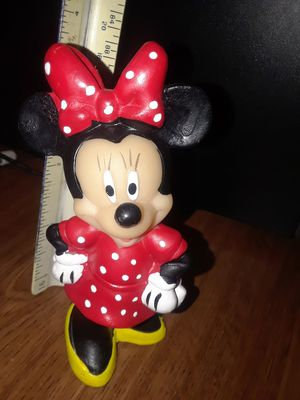 Disney Minnie Mouse plastic figure please check out my other offers for Sale in Riverside, CA