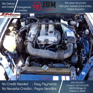 98 99 00 01 MX-5 FRONT CLIP 1.8L ENGINE 6-SPEED TRANSMISSION JDM BP for Sale in Orlando, FL