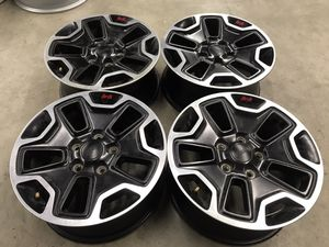 """17"""" Jeep Rubicon factory wheels for Sale in San Diego, CA"""