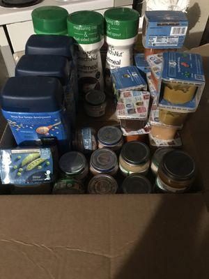 Free baby food for Sale in Auburn, WA