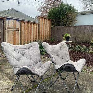 Gray Butterfly Chairs for Sale in Portland, OR