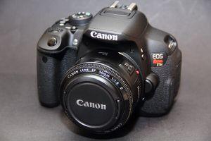 Canon T5i w/ Portrait lense 50mm 1.8 for Sale in Tampa, FL