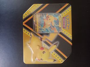 Pokemon Pikachu tin! for Sale in Charleston, SC