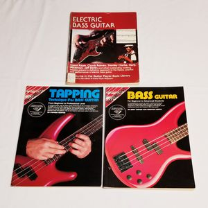 Bass Guitar Instruction Books for Sale in Parma, OH