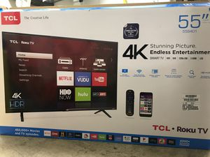 Tcl TV 55 inch for Sale in Federal Way, WA