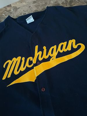 Michigan Baseball button down Tee for Sale in Chicago, IL