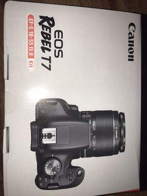 Canon rebel T7 24.1 megapixel for Sale in Los Angeles, CA
