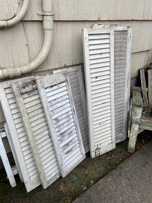 Vintage shutters for Sale in Portland, OR