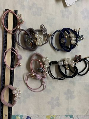 Set of 3 Charm Hair tie bracelet $5 for Sale in Houston, TX