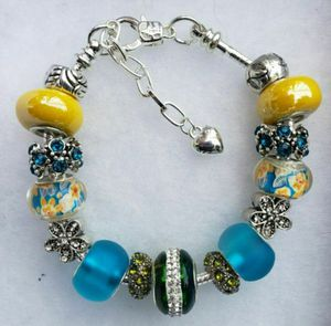 Yellow and bluecharm bracelet 1 for $15 or 2 for $25 for Sale in Baltimore, MD