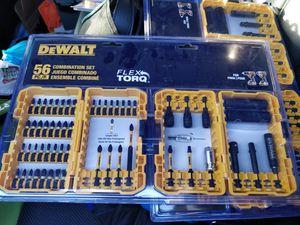 DEWALT FlexTorq 56-Piece Phillips/Square/Torx Impact Driver Bit Set for Sale in Fort Belvoir, VA