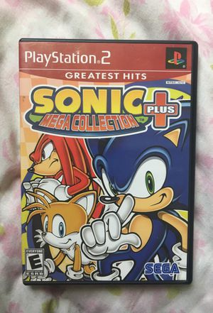 Sonic Mega Collection for PS2 for Sale in Fairfax, VA