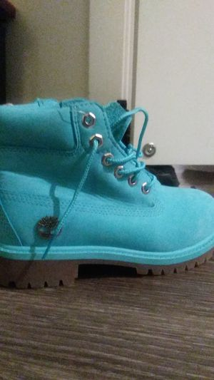 Light blue size 13 kids timberlands for Sale in Washington, DC