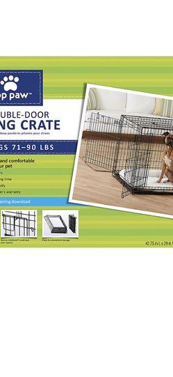 Top Paw XLarge Double Door Crate for Sale in Renton,  WA