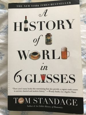 The history of the world in 6 glasses for Sale in Solon, OH